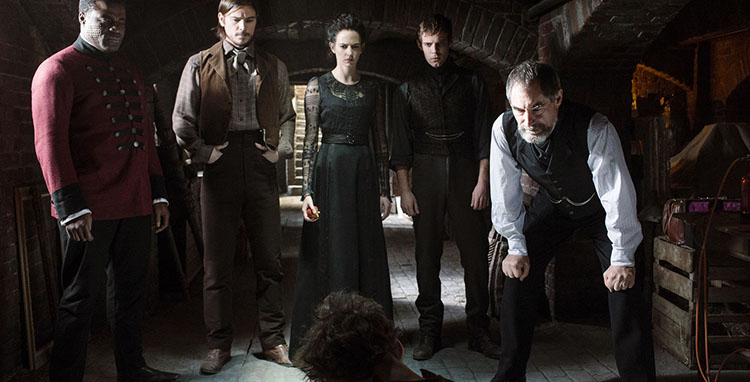 Penny Dreadful (Showtime, costumi di Gabriella Pescucci)