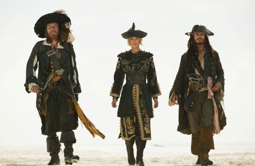 Pirates of the Carribean: at World's End (Gore Verbinki) - Costumes de Penny Rose