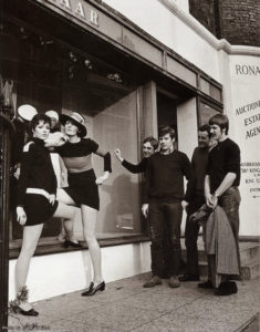 1967: il negozio di Mary Quant in Kings Road